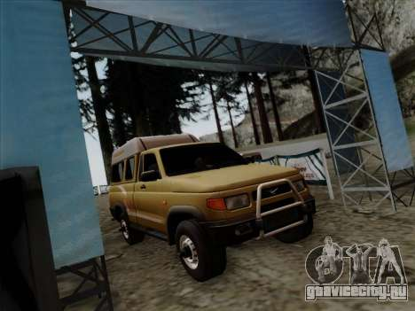 УАЗ 2760 для GTA San Andreas вид сзади слева