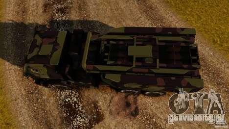 M142 HIMARS для GTA 4 вид справа