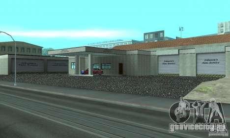 Johnsons Business (Johnsons Auto Service) для GTA San Andreas