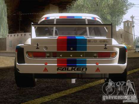 BMW CSL GR4 для GTA San Andreas вид сзади