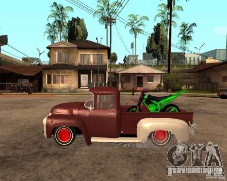 ЗИЛ 130 Fiery Tempe Final для GTA San Andreas вид слева