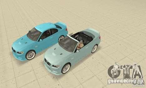 BMW M3 2008 Hamann v1.2 для GTA San Andreas вид сзади слева
