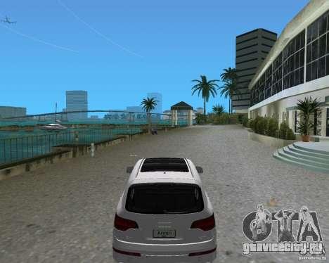 Audi Q7 v12 для GTA Vice City вид слева