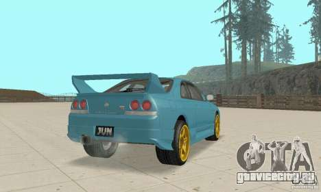 Nissan Skyline R33 Tuning для GTA San Andreas