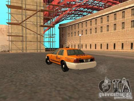 Ford Crown Victoria San Francisco Cab для GTA San Andreas