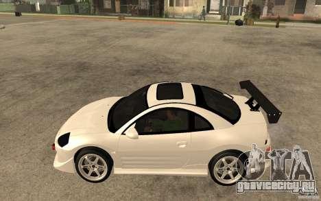 Mitsubishi Eclipse 2003 V1.5 для GTA San Andreas вид слева