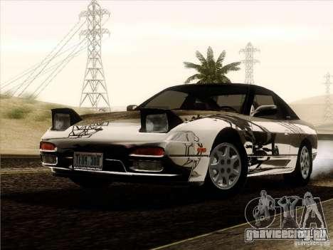 Nissan 240SX S13 - Stock для GTA San Andreas вид снизу