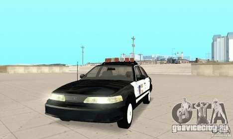 Ford Taurus 1992 Police для GTA San Andreas