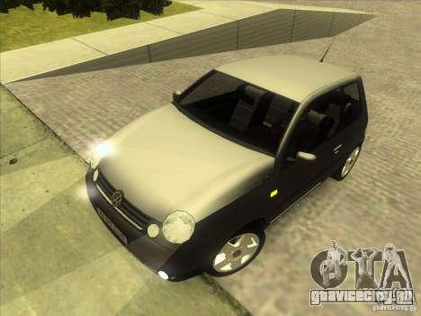 Volkswagen Lupo для GTA San Andreas вид сверху