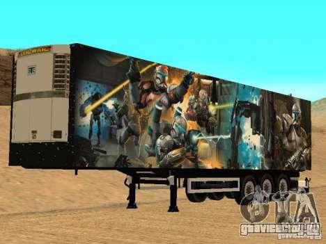 Прицеп Star Wars для GTA San Andreas