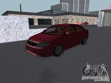 Toyota Corolla Sedan для GTA San Andreas