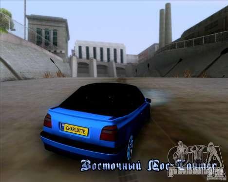 Volkswagen Golf III для GTA San Andreas вид сверху
