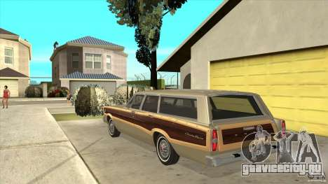 Ford Country Squire 1966 для GTA San Andreas вид сзади слева