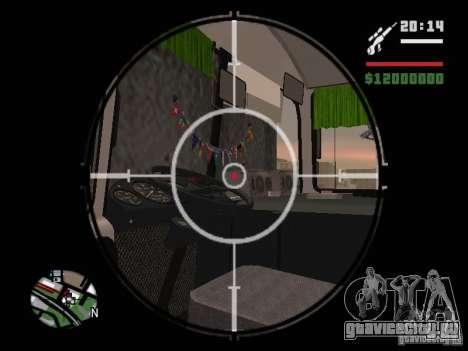 ПАЗ-32054 для GTA San Andreas вид снизу