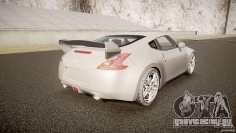 Nissan 370Z для GTA 4 вид сбоку
