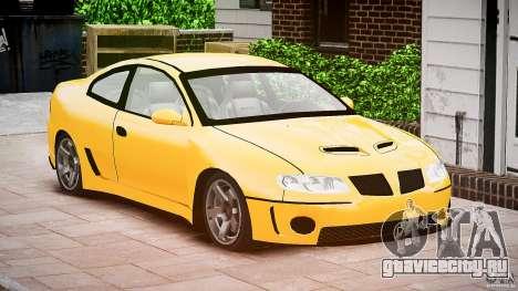 Pontiac GTO 2004 для GTA 4 вид справа