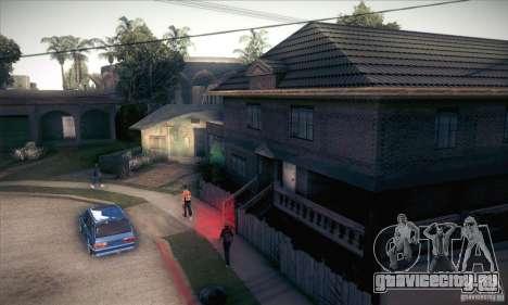 Новый дом CJ для GTA San Andreas пятый скриншот