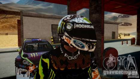 Ken Block Gymkhana 5 Clothes (Unofficial DC) для GTA 4 шестой скриншот