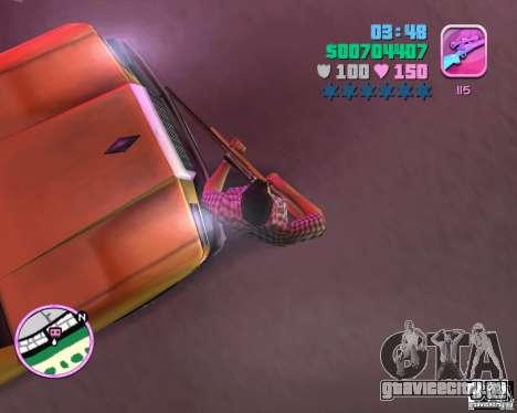 Клетчатая рубашка и джинсы для GTA Vice City второй скриншот
