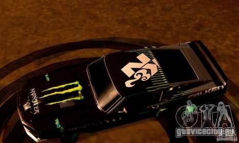Shelby GT500 Monster Drift для GTA San Andreas салон