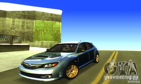 Subaru Impresa WRX STI 2008 для GTA San Andreas