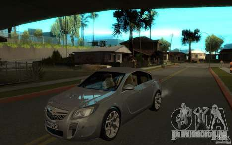 Opel Insignia 2011 для GTA San Andreas
