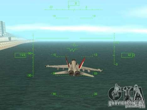 Авиационный HUD для GTA San Andreas второй скриншот