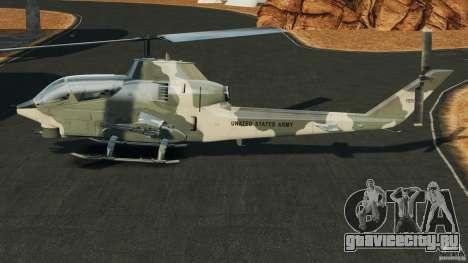 Bell AH-1 Cobra для GTA 4 вид слева