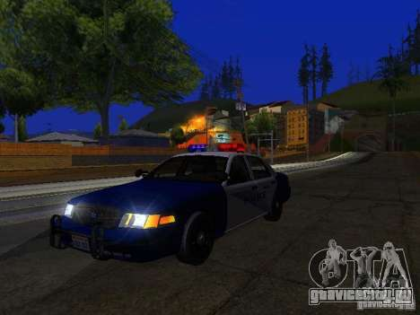 Ford Crown Victoria Belling State Washington для GTA San Andreas вид сбоку