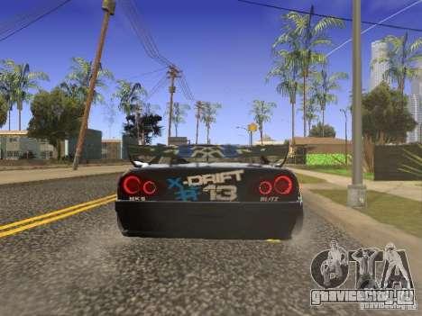 Elegy Drift Korch v2.1 для GTA San Andreas вид сзади слева