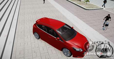 Ford Focus ST 2012 для GTA 4 вид изнутри