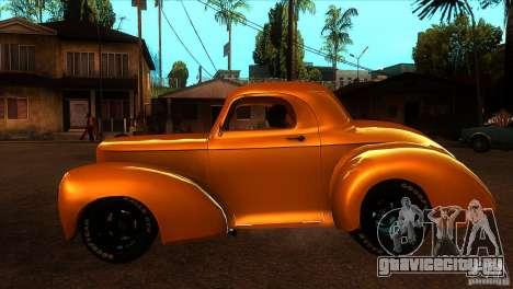 Americar Willys 1941 для GTA San Andreas вид слева