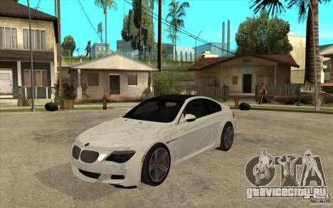 BMW M6 Coupe V 2010 для GTA San Andreas