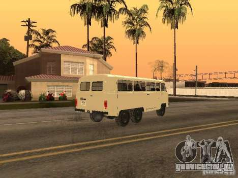 УАЗ 452К для GTA San Andreas вид слева