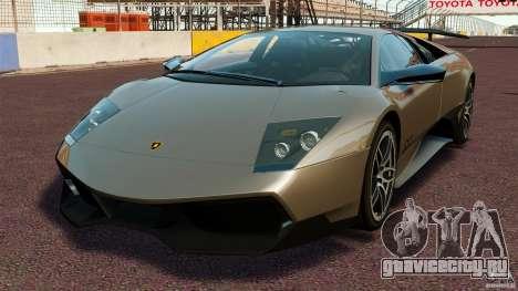 Lamborghini Murcielago LP670-4 SV [EPM] для GTA 4