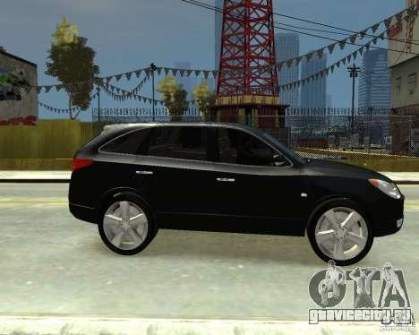 Hyundai IX55 для GTA 4 вид справа
