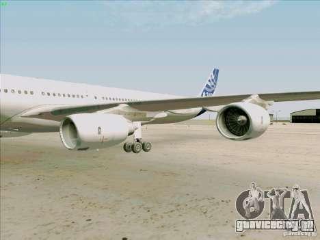 Airbus A-340-600 для GTA San Andreas вид изнутри