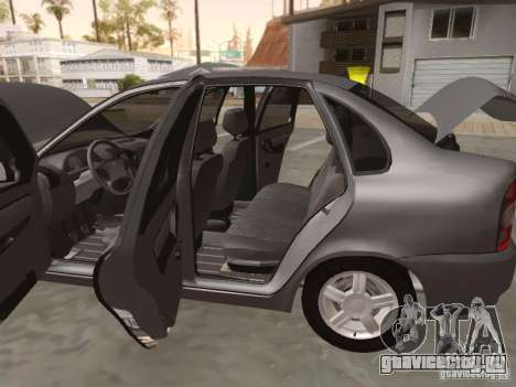 Лада Калина седан для GTA San Andreas вид сзади