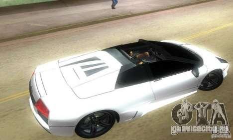 Lamborghini Murcielago LP640 Roadster для GTA Vice City вид слева