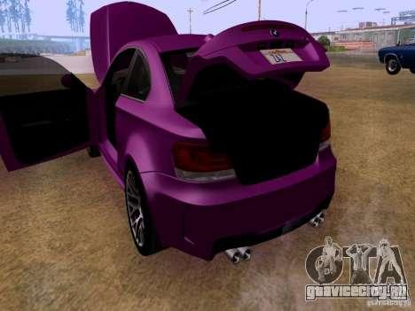BMW 1M  2011 для GTA San Andreas вид сбоку