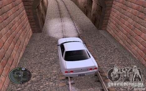 Русские Рельсы для GTA San Andreas четвёртый скриншот
