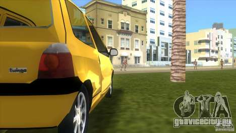 Renault Twingo для GTA Vice City вид справа