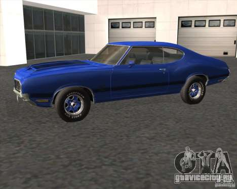 Oldsmobile 442 (fixed version) для GTA San Andreas вид слева