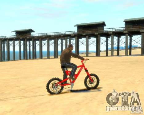 Mountain bike для GTA 4 вид слева