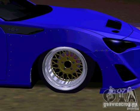 Scion FR13 для GTA San Andreas салон