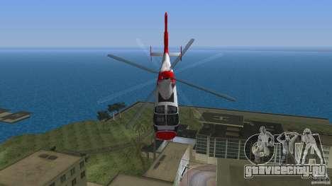 Eurocopter As-365N Dauphin II для GTA Vice City вид сбоку