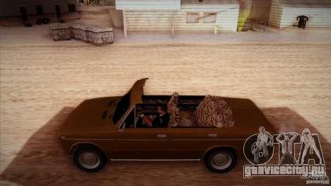 ВАЗ 2103 Кабриолет для GTA San Andreas вид сверху