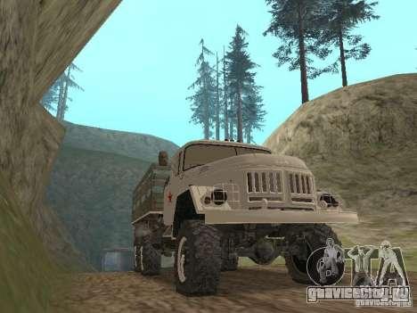 ЗИЛ 131 Парадный для GTA San Andreas вид слева