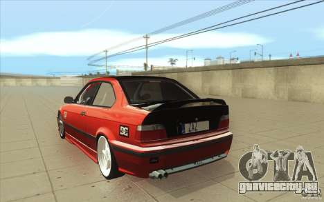 BMW Fan Drift Bolidas для GTA San Andreas вид сзади слева