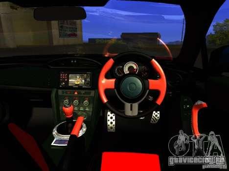 Toyota GT86 Limited для GTA San Andreas вид снизу